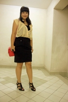 Urbanscapes blouse - online - forever 21 skirt - online shoes