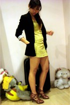 kitty kay dress - bardot blazer - zomp shoes