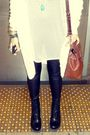 Black-dr-martens-boots-black-miss-selfridges-leggings-white-topshop-cardigan