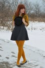 Black-polka-dot-forever-21-dress-black-panda-modcloth-hat