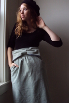 The Big Bow Pajama Skirt