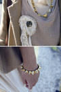 Beige-urban-outfitters-sweater-tan-urban-outfitters-blazer