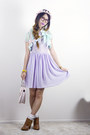 Light-purple-american-apparel-dress