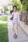 Tan-jeffrey-campbell-heels-light-purple-nasty-gal-shorts