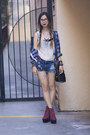 Navy-goodwill-shirt-navy-diy-shorts-white-urban-outfitters-top