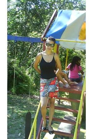 skirt - sunglasses - swimwear