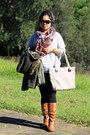 Esperence-boots-floral-just-jeans-scarf-oroton-bag-billabong-glasses