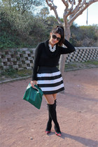 sucre complementos skirt - Zara sweater - Zara necklace