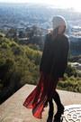 Crimson-forever-21-skirt-black-qupid-boots-black-forever-21-sweater