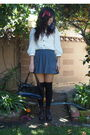 Black-vintage-bcbg-bag-brown-vintage-nine-west-boots-white-erin-fetherson-fo