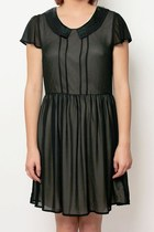 Sequin Collar Dress