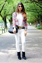 Zara boots - Zara jeans