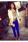 Gold-glitter-forever-21-heels-white-forever-21-blazer-gold-sequin-bgbg-bag