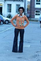 Fashioncadetboutique necklace - Dorothy Perkins jeans
