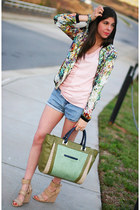 wedges Alexander Wang shoes - floral print Zara Trf jacket