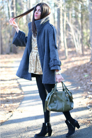 prorsum coat QueenInc coat - Topshop boots - Lodis bag
