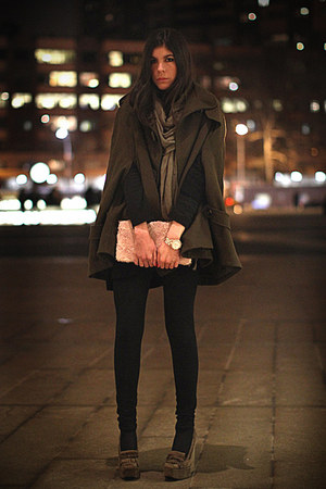 balenciaga shoes - H&amp;M bag - Marc Jacobs watch - asos cape