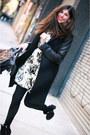 Topshop-boots-alice-and-olivia-dress-zara-coat-balenciaga-bag
