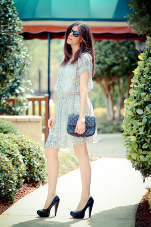 Joie dress - Aldo heels - Marc by Marc Jacobs watch