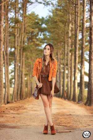 brown Dutmy skirt