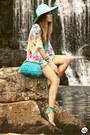 Aquamarine-dafiti-dress