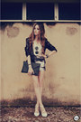 Renner-blazer-romwe-sunglasses-lovelysally-skirt