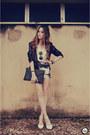 Renner-blazer-romwe-sunglasses-lovelysally-skirt