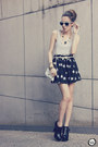 Eggshell-choies-sunglasses-black-romwe-skirt