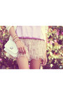 Light-pink-second-hand-skirt-tan-kaf-acessrios-bracelet