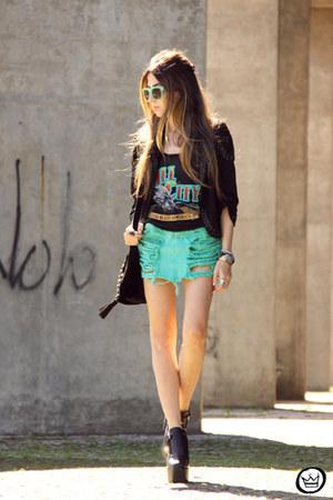 chartreuse Mac Stile skirt