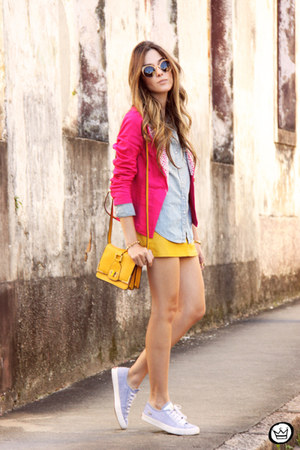 hot pink Displicent blazer