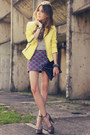 Light-yellow-romwe-jacket-purple-juliana-silveira-skirt