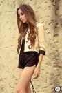 Cream-lokanda-jacket-black-sequins-marisa-shorts