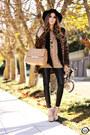 Dark-brown-choies-coat-black-romwe-leggings