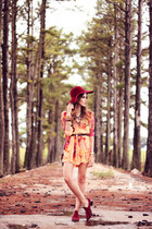 light orange Moikana dress