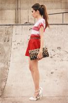 romwe skirt - asos heels