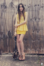 Mustard-lace-peplum-nini-fashionstyle-top-mustard-clubcouture-skirt