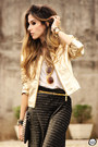 Black-my-philosophy-skirt-gold-lança-perfume-jacket