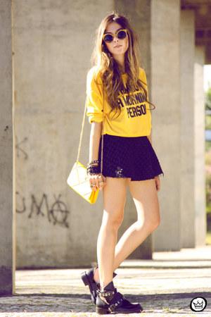 yellow Minga London jumper