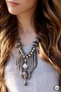 Silver-skull-slash-store-necklace-black-sheinside-jacket