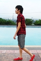 F&H top - Topman shorts - Topman shoes - DIY accessories