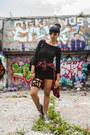 Black-forever-21-dress-black-estarer-bag-black-zara-glasses