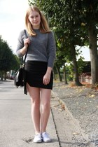 heather gray acne sweater