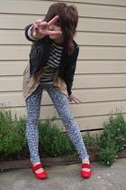 Target jacket - CKM jacket - Target jeans - Femme Connection shoes