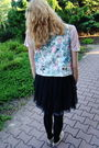 Black-river-island-skirt-pink-new-yorker-blouse-pink-no-name-socks-second-