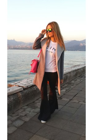 green zeroUV glasses - hot pink PERSUNMALL bag