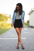 denim and stripes