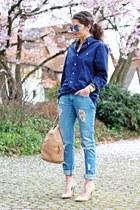 navy Ralph Lauren blouse