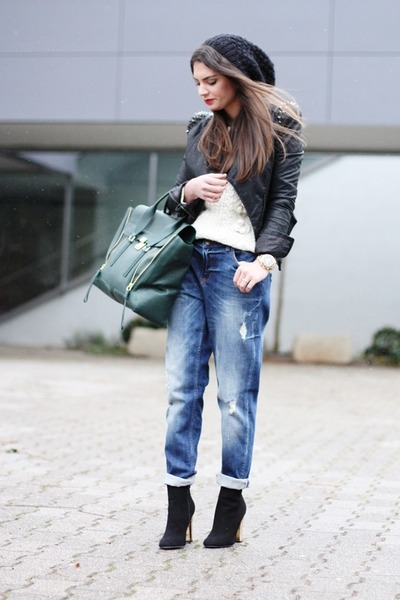 Buffalo boots - GINA TRICOT jeans - lookbookstore jacket - Phillip Lim bag