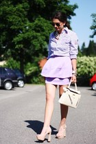 light purple StylebyMarina skirt - light purple Gaastra blouse
